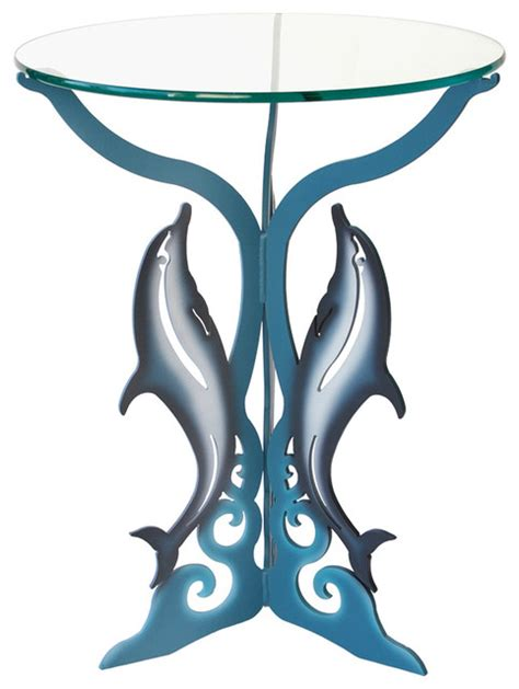 Alibaba.com offers 833 dolphins glass coffee table products. Dolphin Table - Eclectic - Side Tables And End Tables - by Cricket Forge