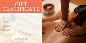 gift certificate template 34 free word outlook pdf With massage gift certificate template free download