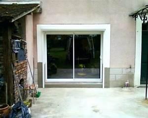 Volet Roulant Garage : baie vitree avec volet roulant baie coulissante avec volet ~ Melissatoandfro.com Idées de Décoration