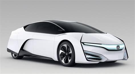 Honda Future Cars by Honda Fcev Concept Teases 2015 Fuel Cell Car Slashgear