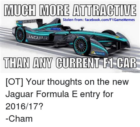 how much are the new jaguars much more attractive stolen from facebookcomf1gamememes