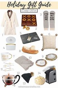 Holiday Gift Guide Cozy Gifts