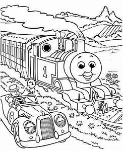 Thomas The Train Coloring Pages For Kids - AZ Coloring Pages