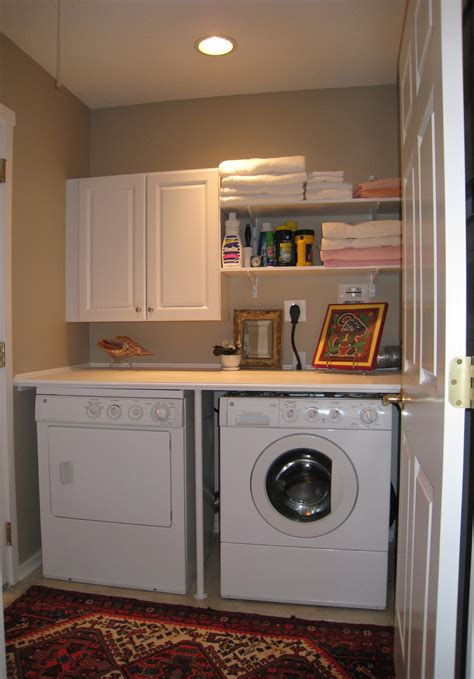 compact dining small laundry room makeovers homes decoration tips