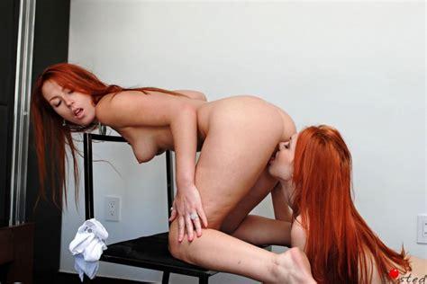 Alexx Jayme Langford Redhead Lesbians