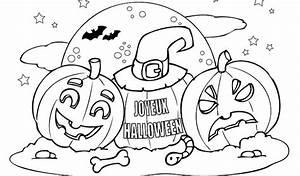Dessin Facile Halloween : coloriage d halloween facile imprimer gratuit coloriage ~ Melissatoandfro.com Idées de Décoration