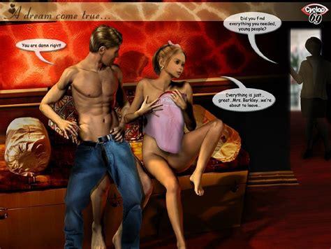Ultimate3dporn Amanda A Dream Come True 3d Porn Comics