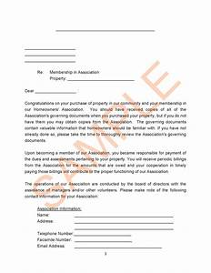 sample hoa letters docoments ojazlink With sample complaint letter to hoa