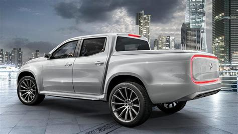 mercedes benz reveals  class ute concepts car news