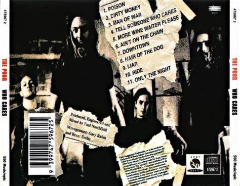 Jolly Joker`s Ohrenbalsam The Poor Who Cares Cd 1994