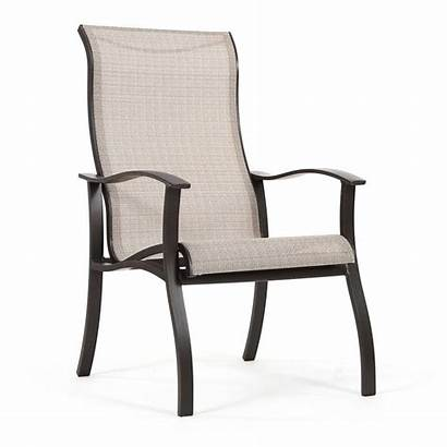 Patio Chairs Sling Furniture Chair Sets Round