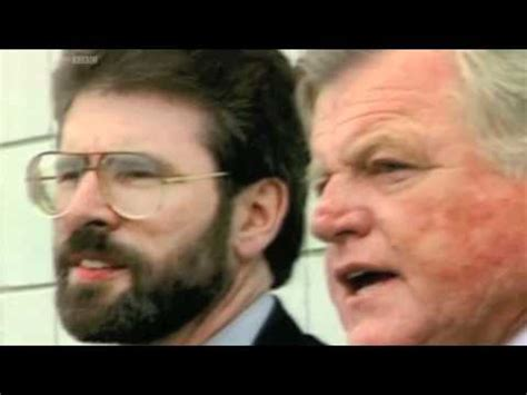 Senator Ted Kennedy Praises Gerry Adams One