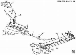 1999 Pontiac Sunfire Parking Brake System