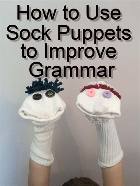 sock puppets  improve grammar pronouns