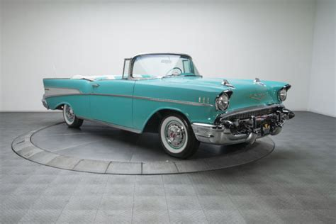 chevrolet bel air  miles tropical turquoise