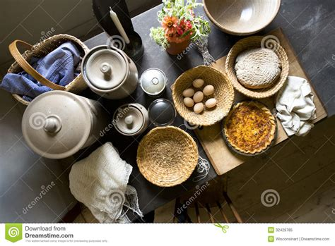 country kitchen cooking country farm kitchen home food cooking royalty free 2766