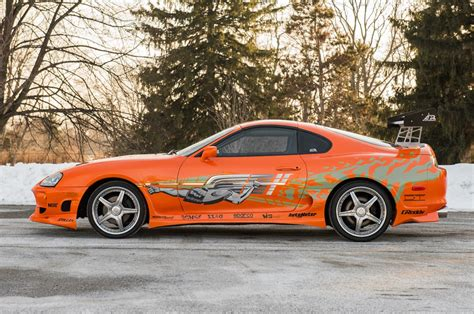 """1993 Toyota Supra From """"the Fast And The Furious"""" Sells"""