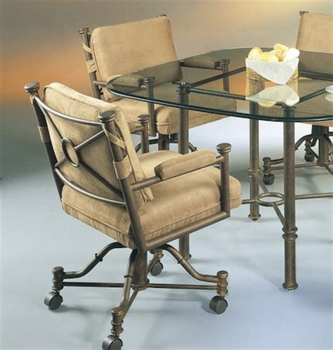 kitchen chairs on wheels dining chairs