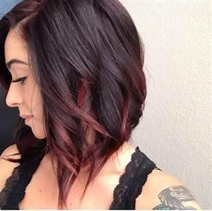 Ombré Hair Rouge : 30 maroon hair color ideas for sultry reddish brown styles ~ Melissatoandfro.com Idées de Décoration