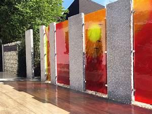 Glaskunst Für Den Garten : trennw nde aus glas glasdekore teufel ~ Watch28wear.com Haus und Dekorationen