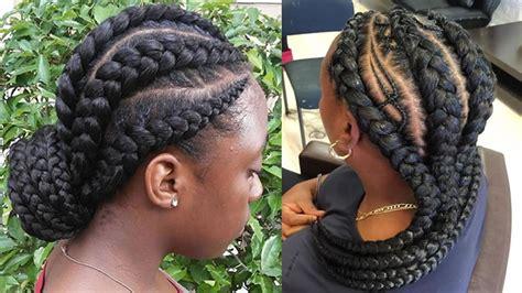 incredibly nice ghana braids hairstyles