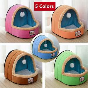 Winter, Warm, Luxury, Dog, Beds, For, Small, Medium, Soft, Dog, Pet, House, Easy, To, Clean, Durable, Lovely, Cat