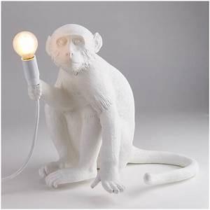 Seletti Monkey Lamp : seletti sitting monkey lamp white iwoot ~ Buech-reservation.com Haus und Dekorationen