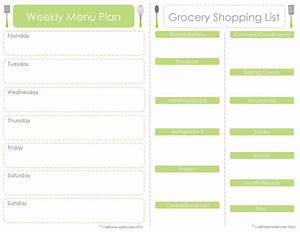 30 day meal planner template calendar template 2016 With menu planning template with grocery list