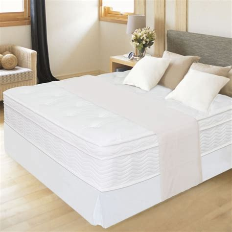 White Bed Frame And Mattress by 12 Therapy Box Top Mattress Bed Frame