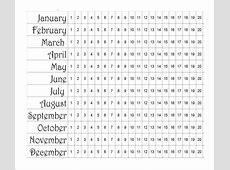 Menstrual Calendar 11+ Free Samples , Examples & Format