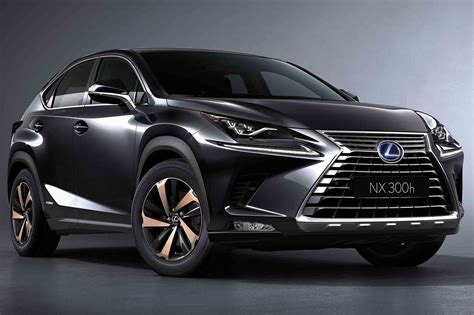 lexus models 2018 lexus nx shows off new design in shanghai