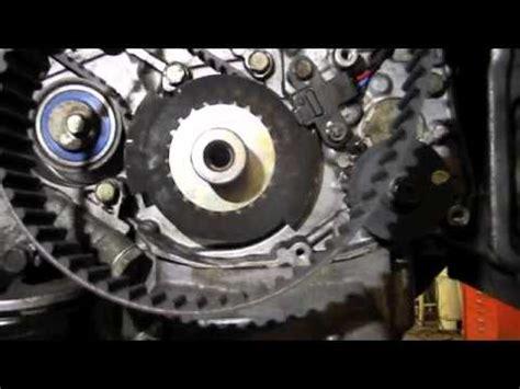 mitsubishi timing belt tips youtube