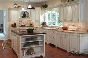 Country french kitchens white kitchen island dark rustic for Kitchen colors with white cabinets with art for large living room wall