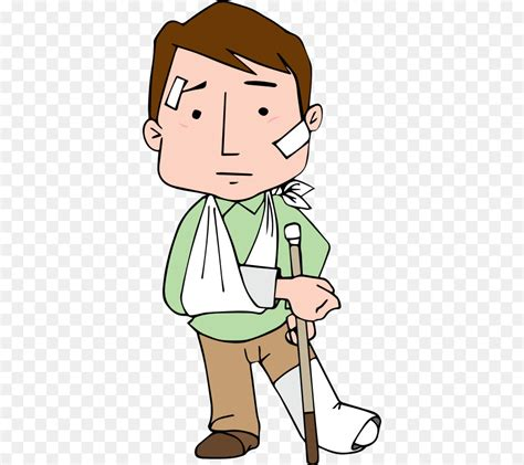 injured man clipart   cliparts  images