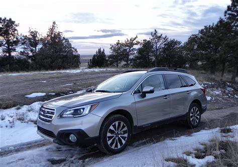 subaru outback snow 2015 subaru outback review