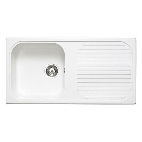 composite kitchen sinks white astracast msk 1 0 bowl composite quartz white inset sink