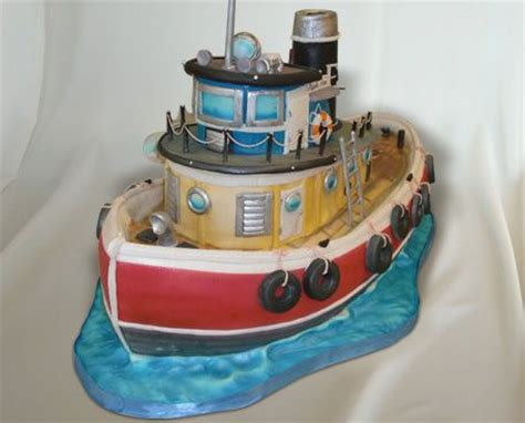 Tugboat Cake by Tugboat Cake When Justin Becomes Captain Everything