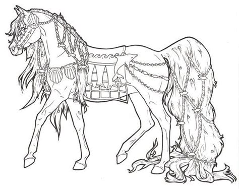 printable horse coloring pages  adults coloring