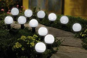 Solar mini garden outdoor lighting globes