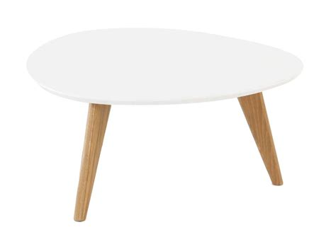 table basse blanc laque ronde conceptions de maison blanzza