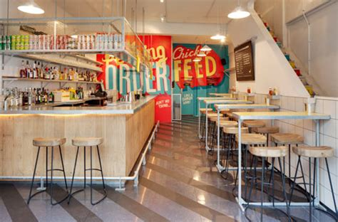 london eatery spruces   typographic wall murals