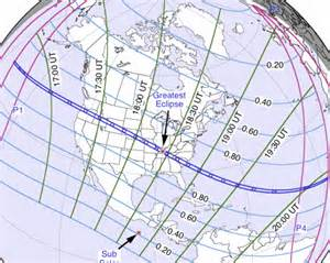 Total Eclipse 2017 Path of Totality