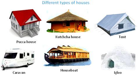 house pucca house kutchcha house tent caravan