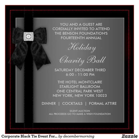 Event Invitation Cards : Formal Event Invitation Cards