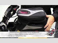 Bags Connection QuickLock Motorcycle Tank Bags YouTube