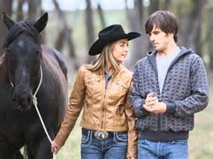 Amy and Ty From Heartland Wedding
