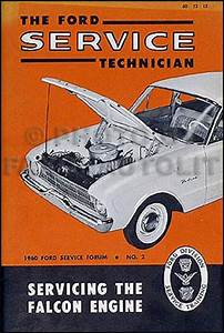1960 Ford Falcon  U0026 Ranchero Repair Shop Manual Original
