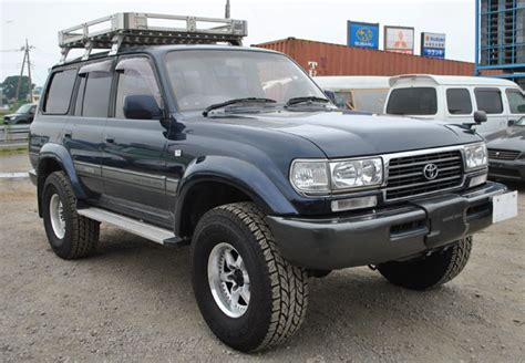 Used Toyota Land Cruiser Suv 4wd 1995 Model In Dark Blue