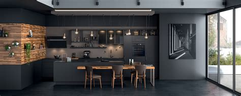 ilot de cuisine emejing cuisine lineaire avec ilot contemporary design