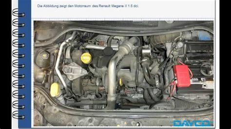 montage steuerriemenkit renault megane ii  dci motor